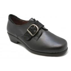 Zapato para plantilla con velcro