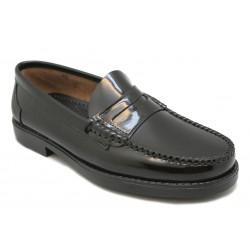 Zapato mocasín clásico. Ancho 10