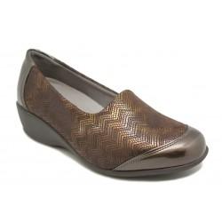 Zapato de mujer ancho y cómodo