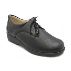 Zapato con cordones. Para plantillas