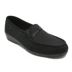 Calzado tipo mocasín ancho 12
