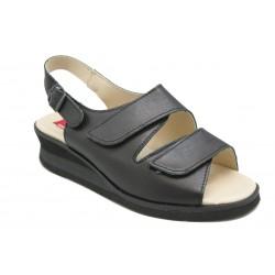 Sandalia dos velcros: Para mujer
