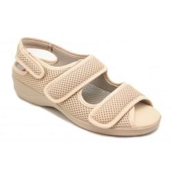 Calzado tipo sandalia ortopédica