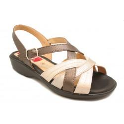 Sandalia cómoda de mujer para verano