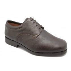 Zapato blucher en ciervo, ancho-16