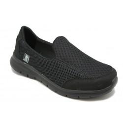 Zapato mocasín de mujer. Para plantillas