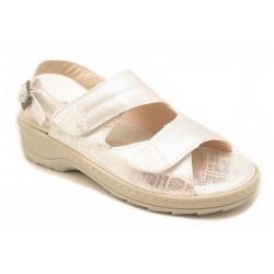 Sandalia de mujer para pies anchos y delicados